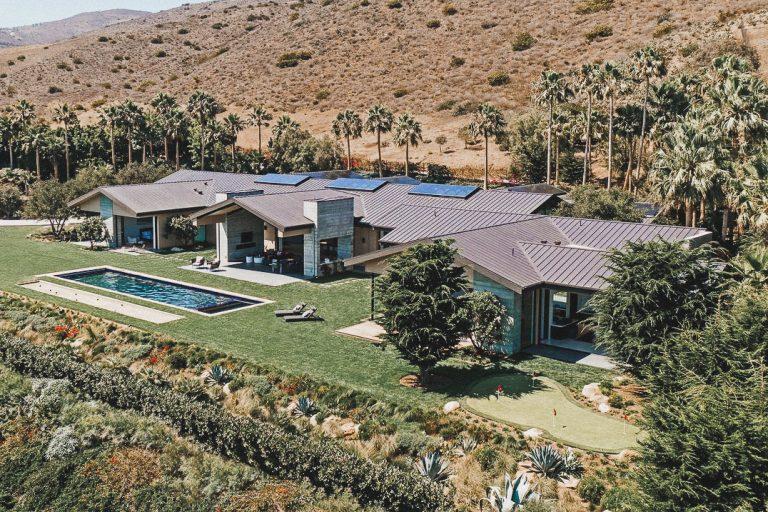 zero carbon emissions mansion malibu