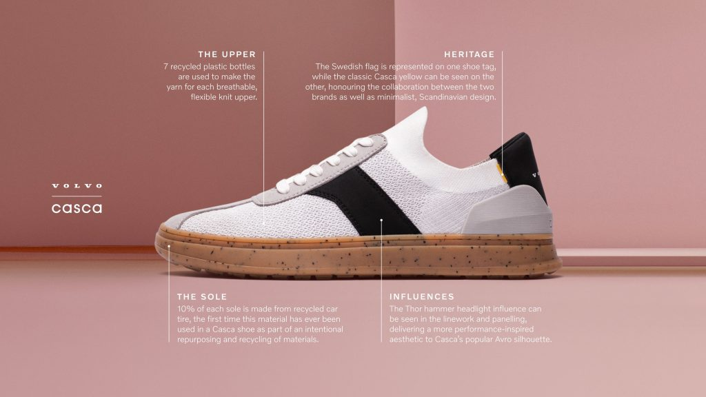 Volvo Wants You to Ditch Cars on World Car-Free Day. It Made Vegan Sneakers to Help.