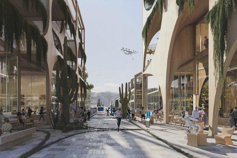 sustainable city telosa