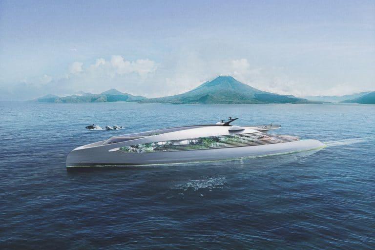eco superyacht